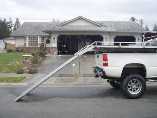 Permalink to Aluminum Sled Deck Ramp
