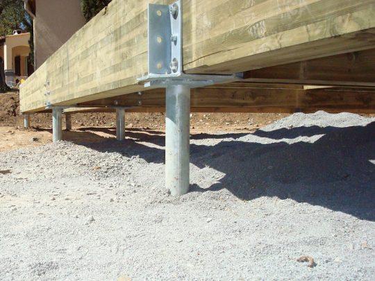 Permalink to Metal Deck Post Footings