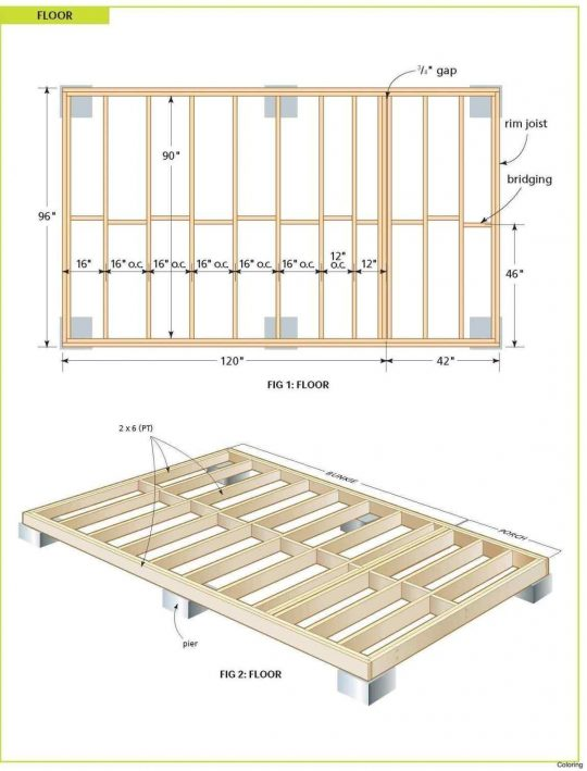 Permalink to 12×24 Deck Plans