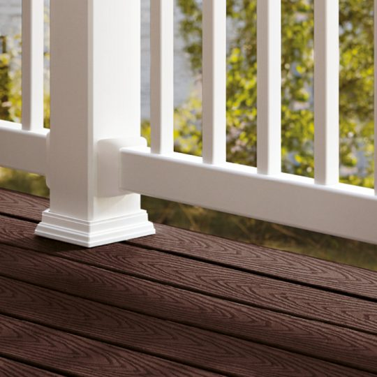 Permalink to Woodland Brown Trex Decking