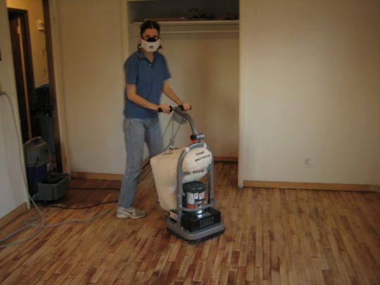 Permalink to Floor Sander On Wood Deck